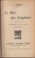 Couverture Le roi des jongleurs Editions Armand Colin 1930
