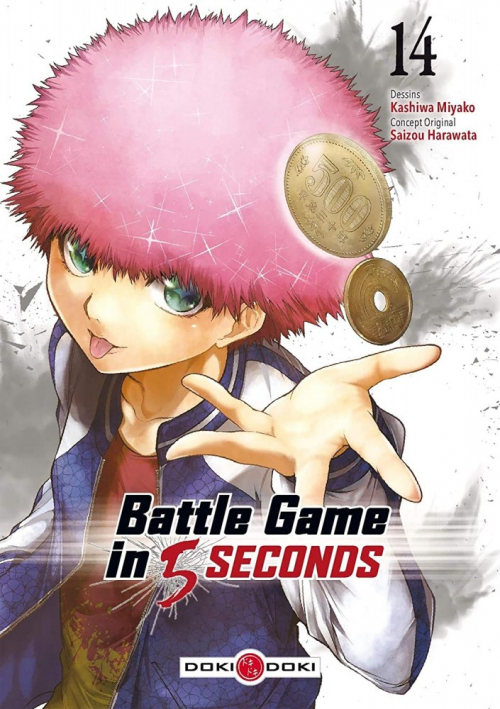 Couverture Battle Game in 5 seconds, tome 14