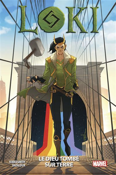Couverture Loki The God Who Fell to Earth