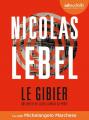 Couverture Le Gibier Editions Audiolib (Suspense) 2021
