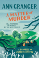 Couverture A Matter of Murder Editions Headline 2020