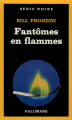 Couverture Fantômes en flammes Editions Gallimard  (Série noire) 1985