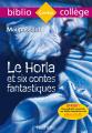 Couverture Le Horla Editions Hachette (Biblio collège) 2018
