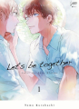 Couverture Let's be together, tome 1 Editions Taifu comics (Yaoï) 2021