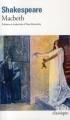 Couverture Macbeth Editions Folio  (Classique) 2010