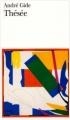 Couverture Thésée Editions Folio  1981