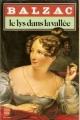 Couverture Le lys dans la vallée Editions Le livre de poche 1984
