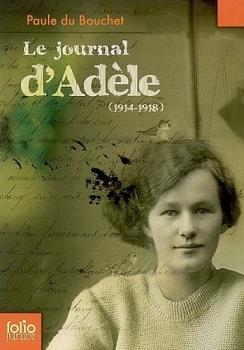 Couverture Le journal d'Adèle