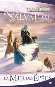 Couverture Les Royaumes Oubliés : La Légende de Drizzt, tome 13 : La Mer des Epées