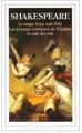 Couverture Le songe d'une nuit d'été, Les joyeuses commères de Windsor, Le soir des rois Editions Flammarion (GF) 1994