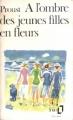 Couverture À l'ombre des jeunes filles en fleurs Editions Folio  1980