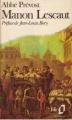 Couverture Histoire du chevalier Des Grieux et de Manon Lescaut / Manon Lescaut Editions Folio  1980