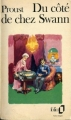 Couverture Du côté de chez Swann Editions Folio  1983