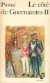 Couverture Le Côté de Guermantes, tome 2 Editions Folio  1972