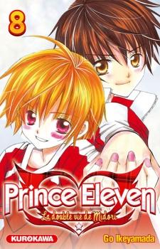 Couverture Prince Eleven - La double vie de Midori, tome 08