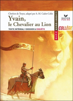 Couverture Yvain, le chevalier au lion