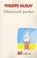 Couverture Désaccord parfait Editions Gallimard  (Tel) 2000