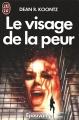 Couverture Le visage de la peur Editions J'ai Lu (Épouvante) 1991