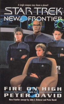 Couverture Star Trek: New Frontier, book 06 : Fire on High