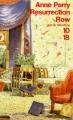 Couverture Resurrection Row Editions 10/18 (Grands détectives) 1998