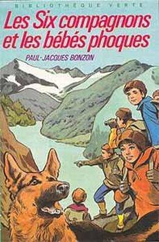 Couverture Les Six Compagnons et les bébés phoques