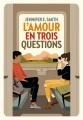 Couverture L'amour en trois questions Editions Gallimard  (Jeunesse) 2021