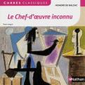 Couverture Le chef-d'oeuvre inconnu Editions Nathan (Carrés classiques) 2014