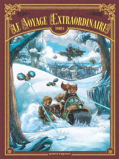 Couverture Le voyage extraordinaire, tome 8 : Vingt mille lieues sous les glaces, partie 2