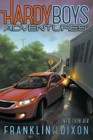 Couverture Hardy Boys Adventures, book 4: Into Thin Air
