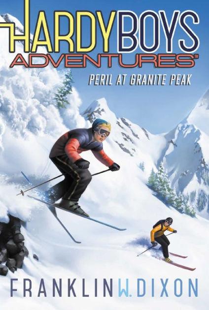 Couverture Hardy Boys Adventures, book 5: Peril at Granite Peak