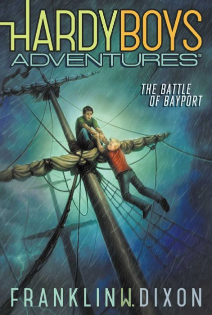 Couverture Hardy Boys Adventures, book 6: The Battle of Bayport