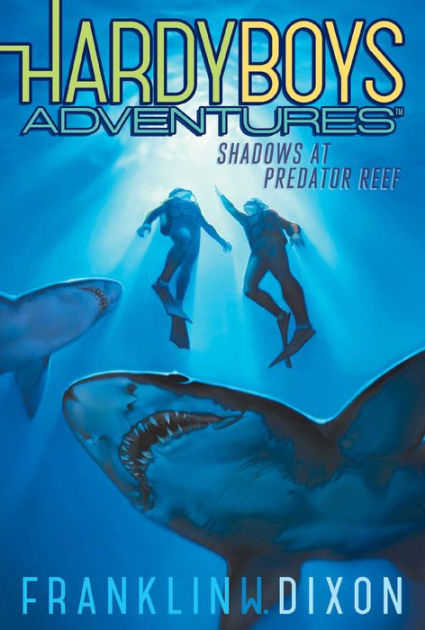 Couverture Hardy Boys Adventures, book 7: Shadows at Predator Reef