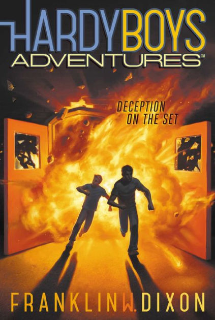 Couverture Hardy Boys Adventures, book 8: Deception on the Set