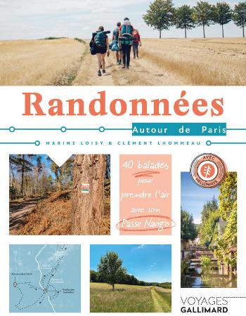 Couverture Randonnées autour de Paris