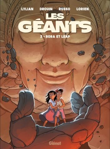 Couverture Les Géants, tome 3 : Bora et Leap