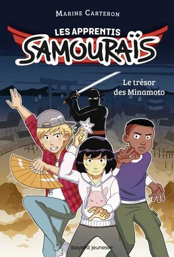 Couverture Les apprentis Samouraïs - Le trésor des Minamoto