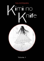 Couverture Kimi no Knife, tome 01 Editions Panini 2021