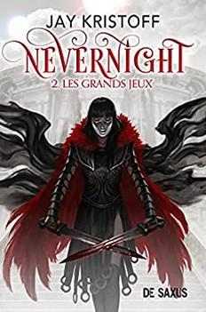 Couverture Nevernight, tome 2 : Les Grands Jeux
