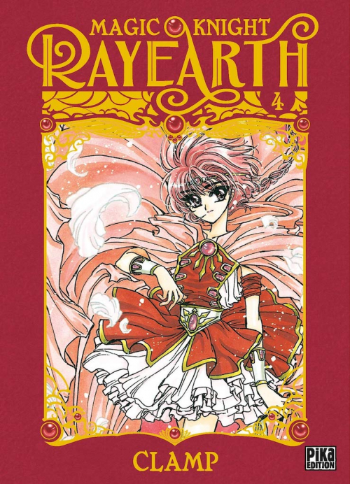 Couverture Magic Knight Rayearth, tome 4