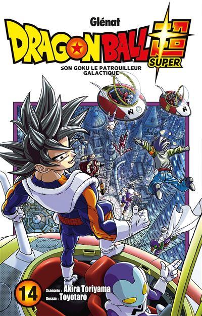 Couverture Dragon Ball Super, tome 14 : Son Goku, Le Patrouilleur Galactique
