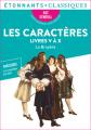 Couverture Les caractères, livres V à X Editions Flammarion (Étonnants classiques) 2021