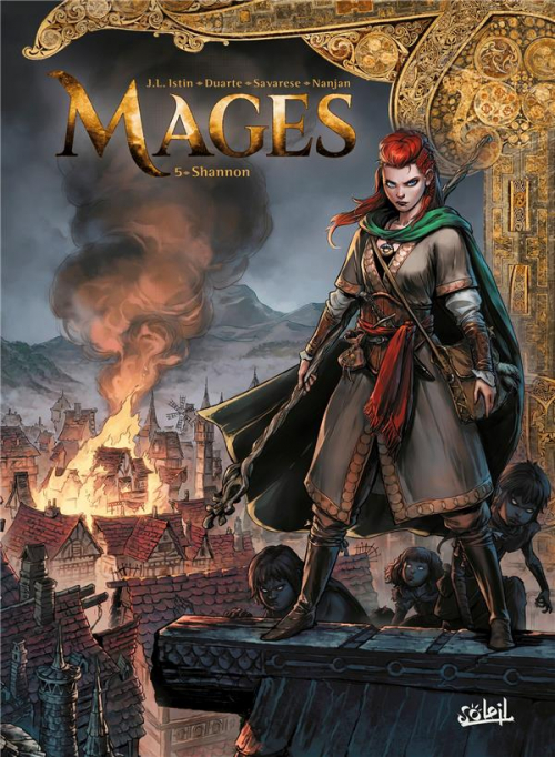 Couverture Mages, tome 05 : Shannon