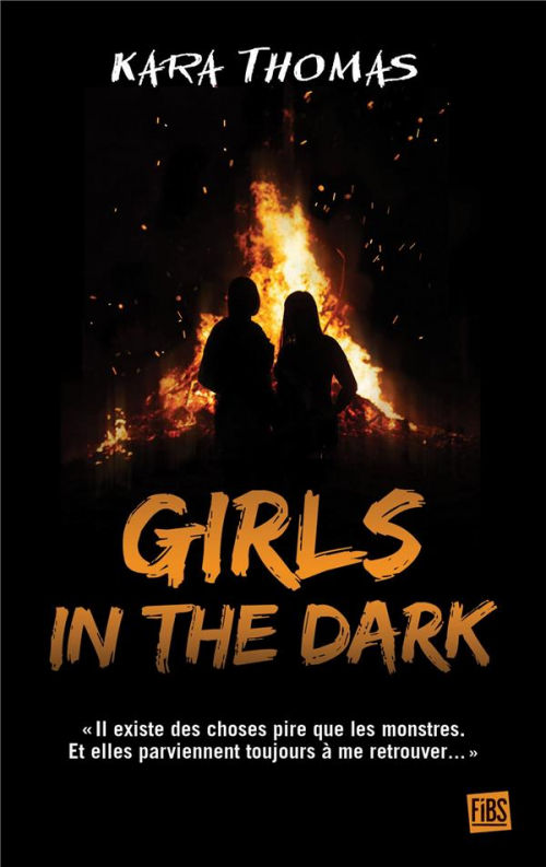 Couverture À la nuit je mens / Girls in the dark