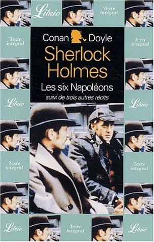 Couverture Sherlock Holmes : les six Napoléons