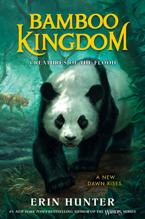 Couverture Bamboo Kingdom, book 1: Creatures of the Flood