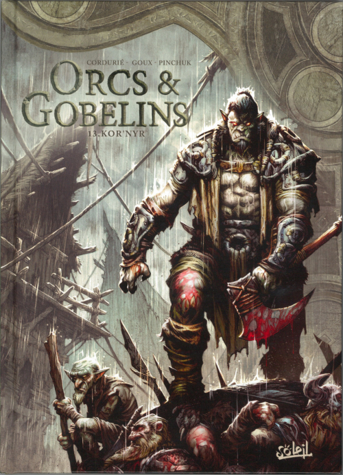 Couverture Orcs & Gobelins, tome 13 : Kor'nyr