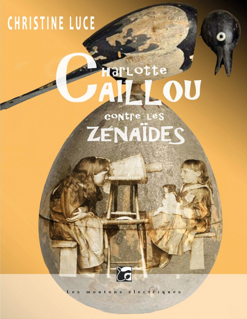 Couverture Charlotte Caillou contre les Zénaïdes