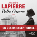 Couverture Belle Greene Editions Lizzie 2021