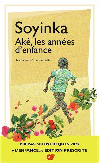 Couverture Aké, les années d'enfance