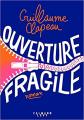 Couverture Ouverture fragile Editions Calmann-Lévy (Littérature française) 2021